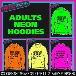 BEER WOMEN & CURRY  ADULTS TEENAGER ELECTRIC HOODIE HOODY